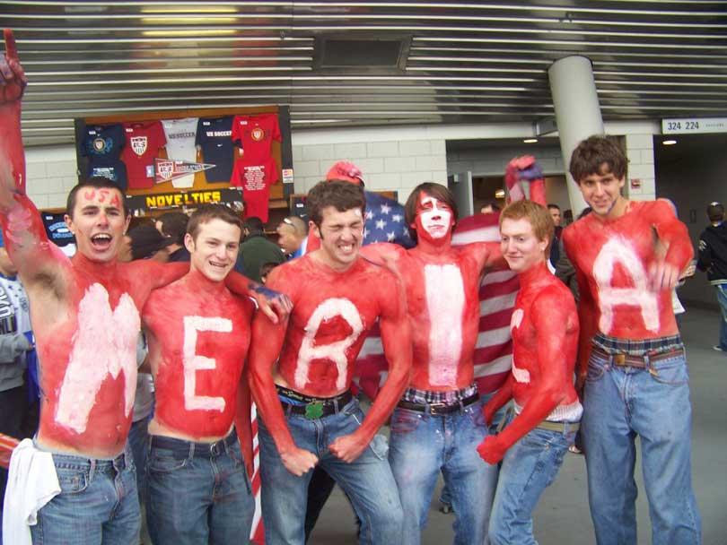 Fans of 'Merica