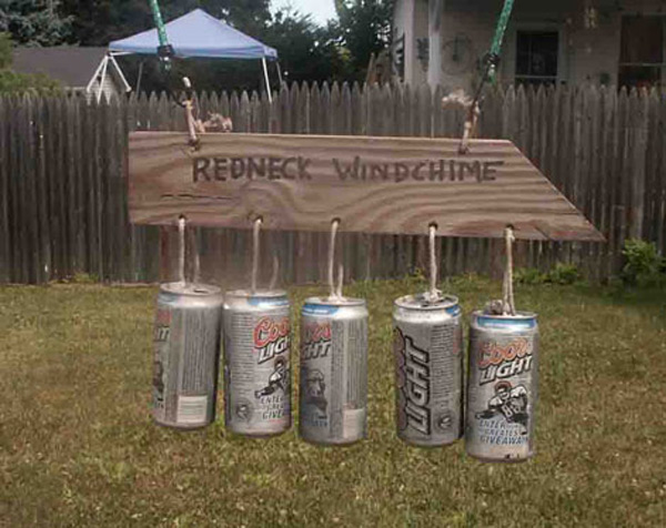 Redneck Wind Chimes 10 Images Because Merica