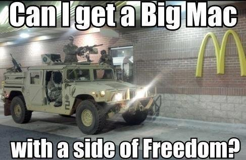 Big Mac with a side of Freedom
