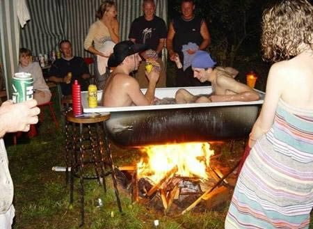 Redneck Hot Tub